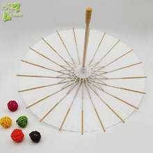 white handmade craft cheap paper make umbrella