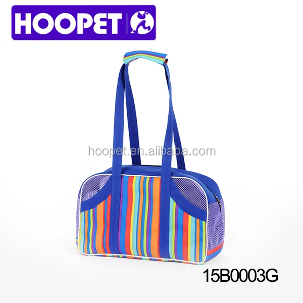2015 HOOPET new arrival dog carrier bag fashion cat carrier bag pet bag
