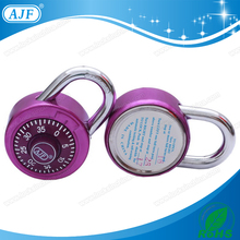 AJF 2015 USA NEW popular 50mm rotary fitness gym club padlock