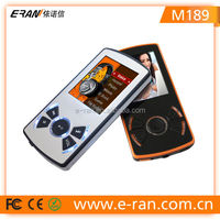 Shenzhen factory high quality new model mp4 digital player 8gb manual video player with cool UI