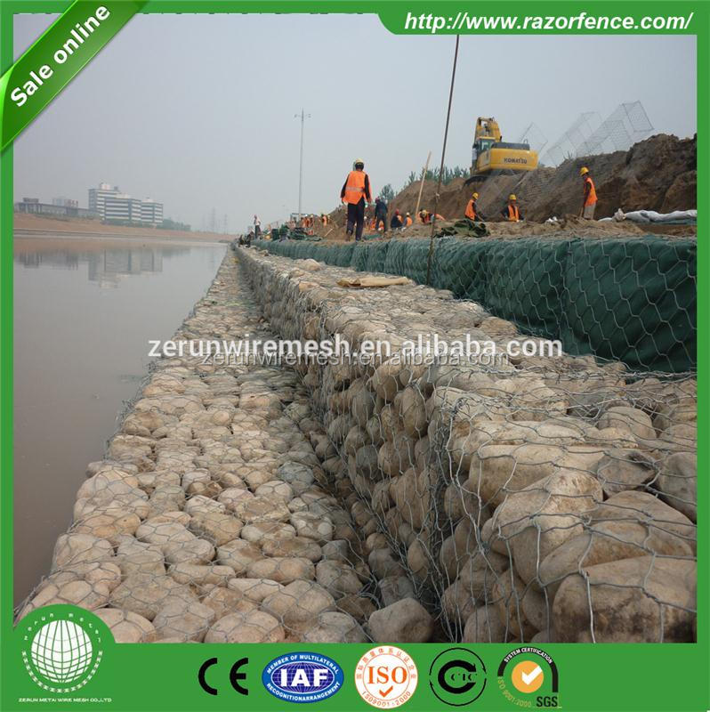 Hot Sale gabion basket wall construction material made in China