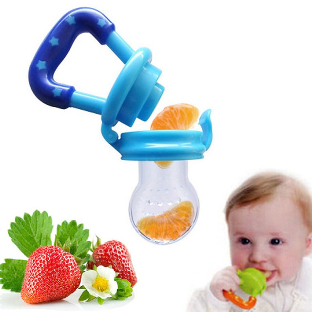 2018 Baby Pacifier Clip Attache Sucette Kids Nipple Food Milk Feeder Safe Baby Pacifier Bottles Nipple Teat Fresh Fruit Nibbler