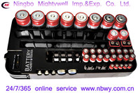 Battery Caddy&Tester for organize and test variety of batteries