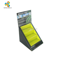 Custom design supermarket promotion Advertising cardboard Small Counter Display Stands Manufacturer