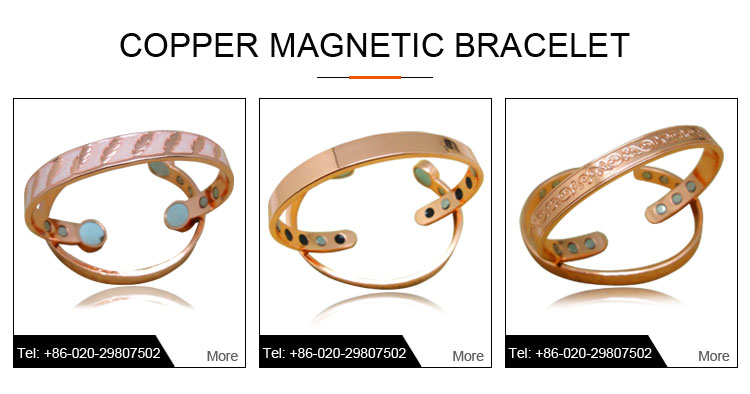 fashion wholesale High quality fashion magnets pure copper rings for men