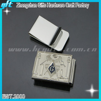 Souvenir OES Symbol Silver Money Clips branded money clip silver masonic clip money clip GFT-MC63