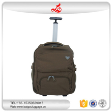 new style trolley backpack travel bag luggage bag high quality factory supplier bag