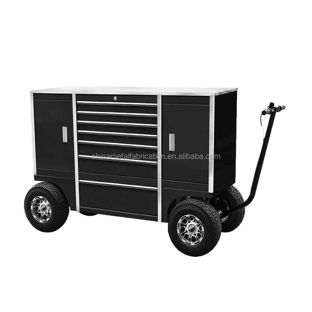 Kindleplate Mobile Roller Wheeled Tool box Cabinet