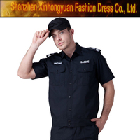 custom cheap black prison guard uniforms