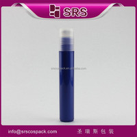 manufacturer 100% no leakage high quality 15ml blue empty medicine plastic bottles for personal care