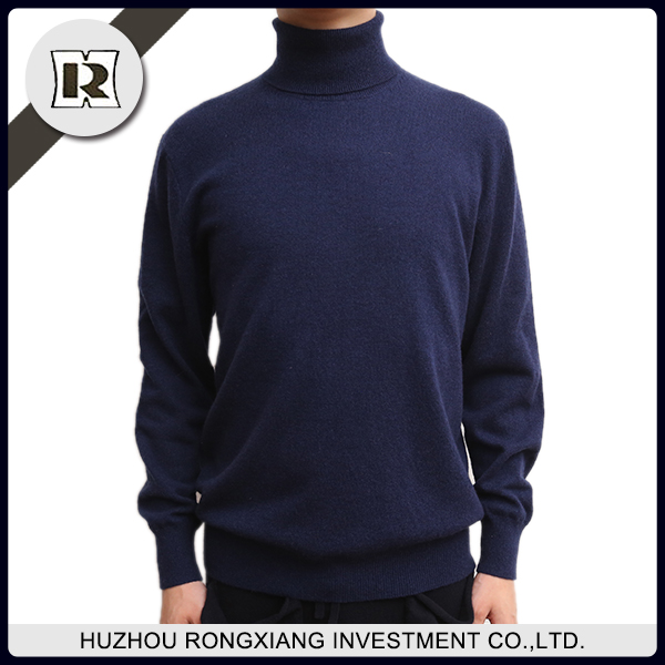 High Quality Turtle Neck Knitting Machine Price men pullover Sweater