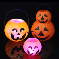 Halloween Party Decoration Supplies Large Pumpkin Bucket Lighting Bar Party Stage Decoration