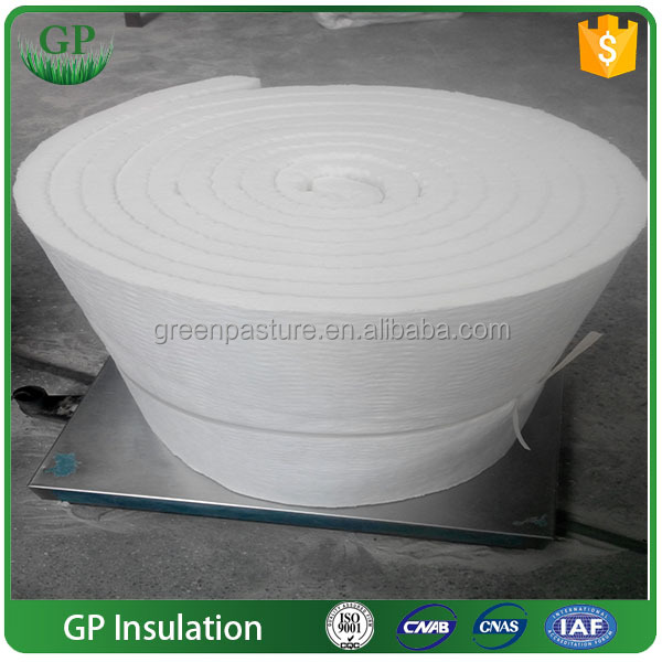 GPCeramic fiber heat blanket Aluminium Silicate Insulation