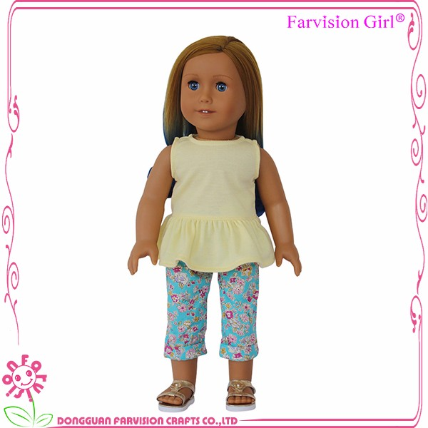 On sale 18 Inch Fashion Girl Summer farisa doll as kids Doll