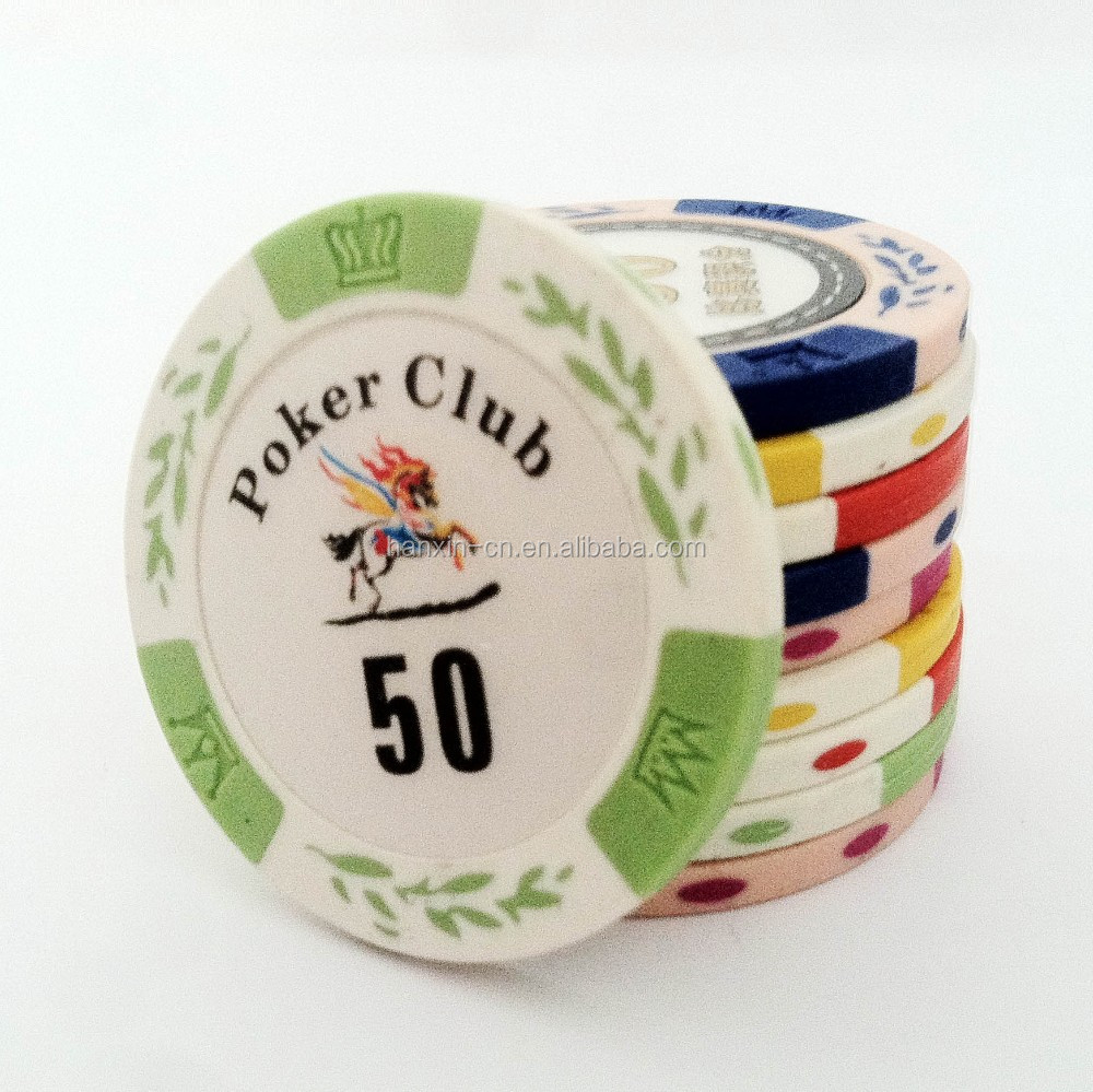 custom 12g clay Poker chips