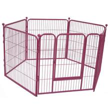 4-pcs luxury heated dog kennels outdoor wire dog kennel MHD011