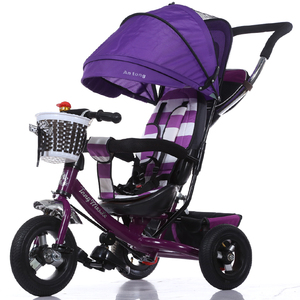 2018 baby walker tricycle 4 in 1 trike / good quality child tricycle seat/ hot sale cheap kids tricycle kids smart trike factory