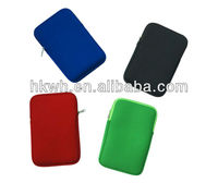 "Hot Selling Waterproof Neoprene Sleeve Pouch For 7"" tablet universal case"