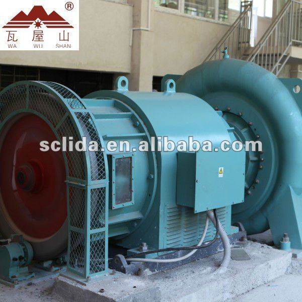 Hydro generating equipment