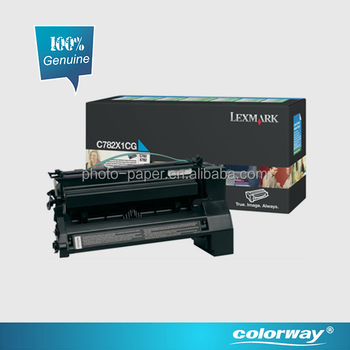Lexmark authorized Original Lexmark Toner Cartridge C782 Magenta for Lexmark printer C782 / X782e