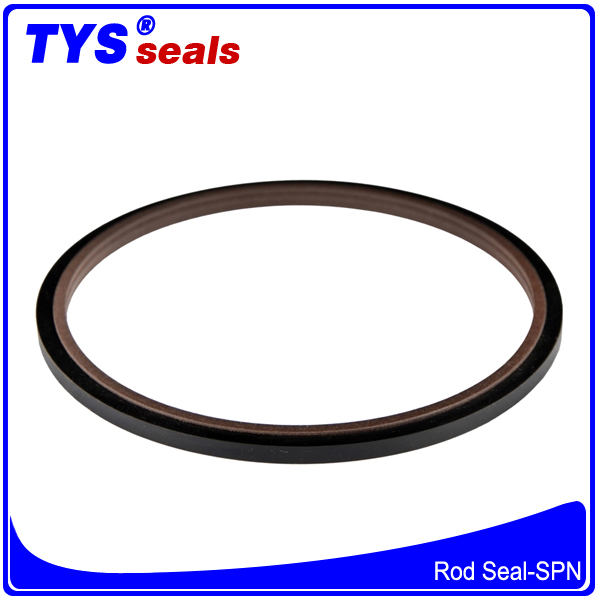 SPN Wholesale high quality excavator piston hydraulic oil seal,outer ring square shape,Oshape,D shape