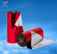 packaging plastic mylar poly film red metallized polyester rolls VMPET metal film