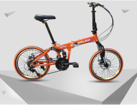 20 inch alloy folding bike 21 speed