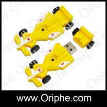 Super cute,cheap,pvc cycle racing usb flash drive no housing