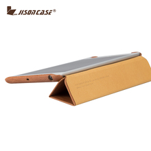 Jisoncase high quality genuine leather cover for ipad mini 2 leather case tablet case luxury holder