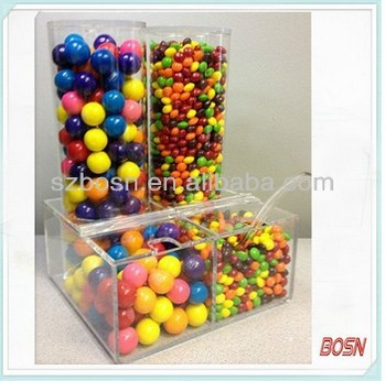 Professional Transparent acrylic box for candy for sale with good quality
