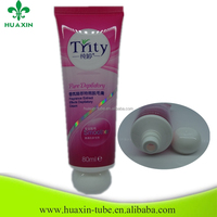 saxy girl tube cosmetic packaging for pesonal care cream
