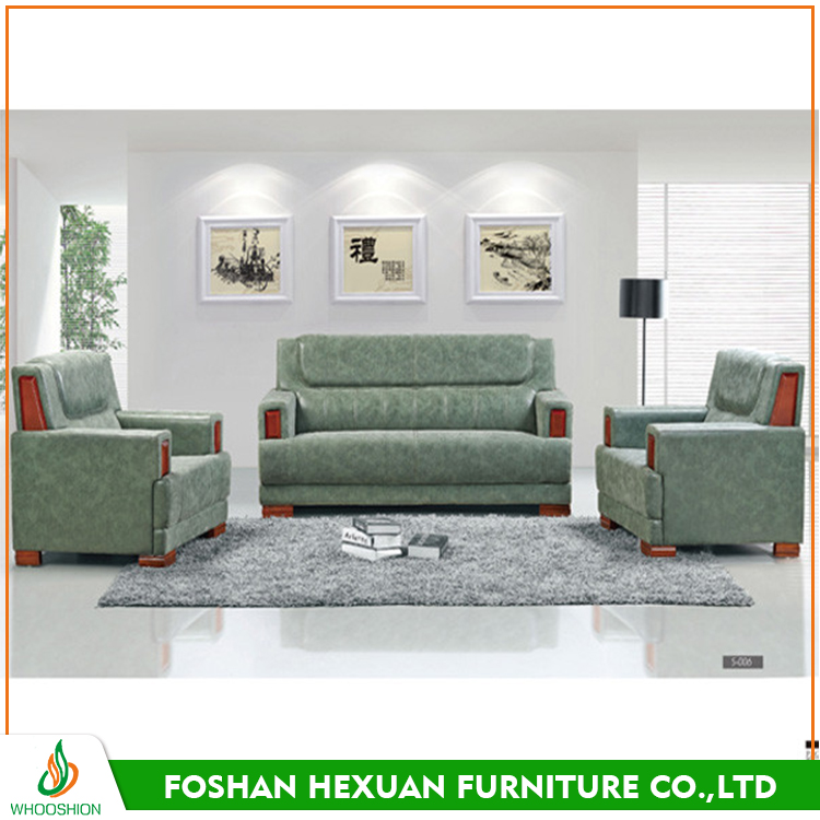 Office room leather sofa furniture modern