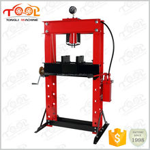 With CE Certificated 50ton Hydraulic Shop Press With Gauge