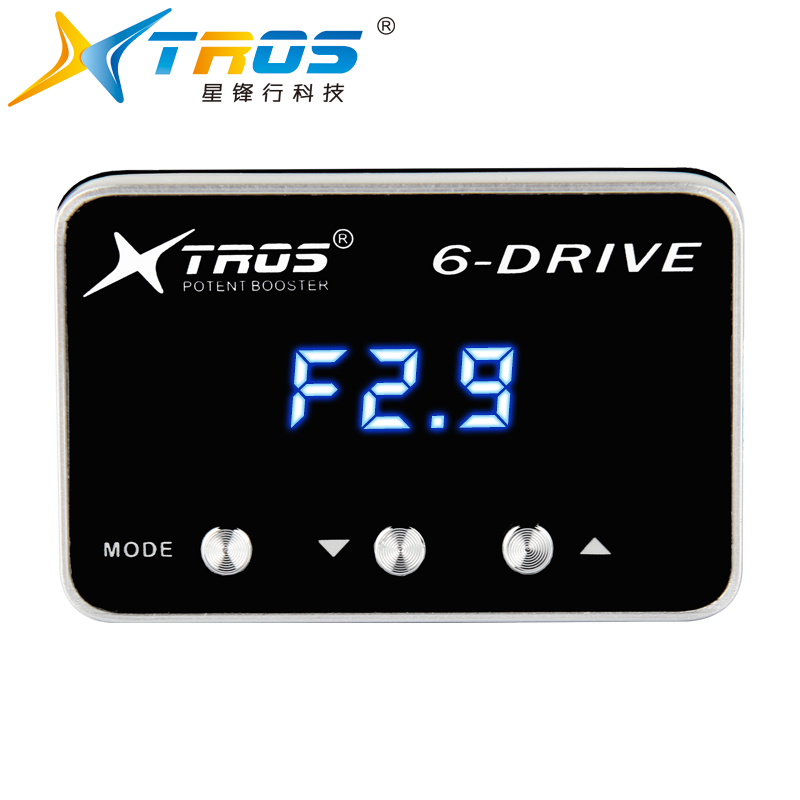 Save fuel 3-8% TS series performance boost accelerator 6 driver electronic throttle controller for Corolla,HONDA