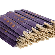 Disposable Wedding Table Round Bamboo Chopsticks