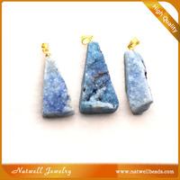 Fashion Jewelry Stone Colorful Crystal Geode