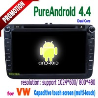 2 Din 8 Inch Special Car DVD Player For VW Satitar/Golf VI/V, R36, Jetta,Scirocco, Tiguan, Touran, Passat