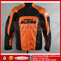 KTM08 2015 New Model KTM motorcycle jacket Racing oxford jacket motorbike jacket with protective gear size M to XL for yamaha