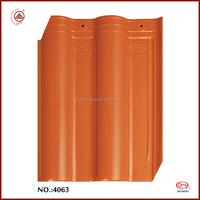 China Manufacturer Good Quality Red 310*400*9mm Roof Tile