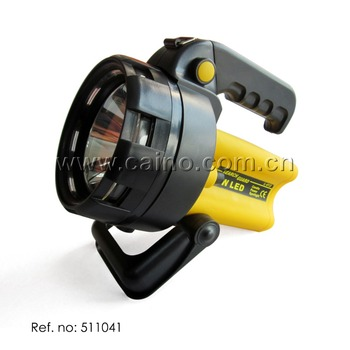 Rechargeable Super Bright 1 LED Spotlight