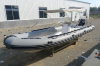 luxury boat yacht long salvage pontoon boats PVC Hypalon fiberglass hull boats RIB-680 730 for sale!!!