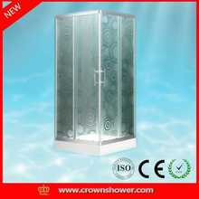 Cheap Wholesale simple shower cabin,shower room,shower box knock down steel storage cabinet bathroom furniture