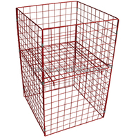 Easy to assemble convenient wire mesh container with wooden pallet/ Wire mesh container/Wire mesh cage