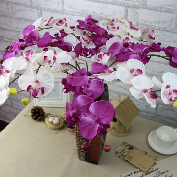 Home Decoration Artificial Phalaenopsis Orchid Plant Sale Orchid Plants