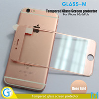 100% Perfect Fit 3D Edge Full Size Tempered Glass Cover for iPhone 6