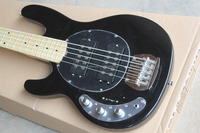free shipping Custom Shop Music man 5 Strings Ernie Ball Electric Bass Guitar Left Handed Maple Neck