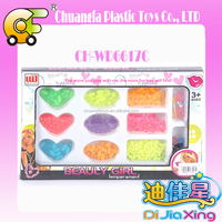Top Sale DIY plastic beads toys for kids jewelry playing
