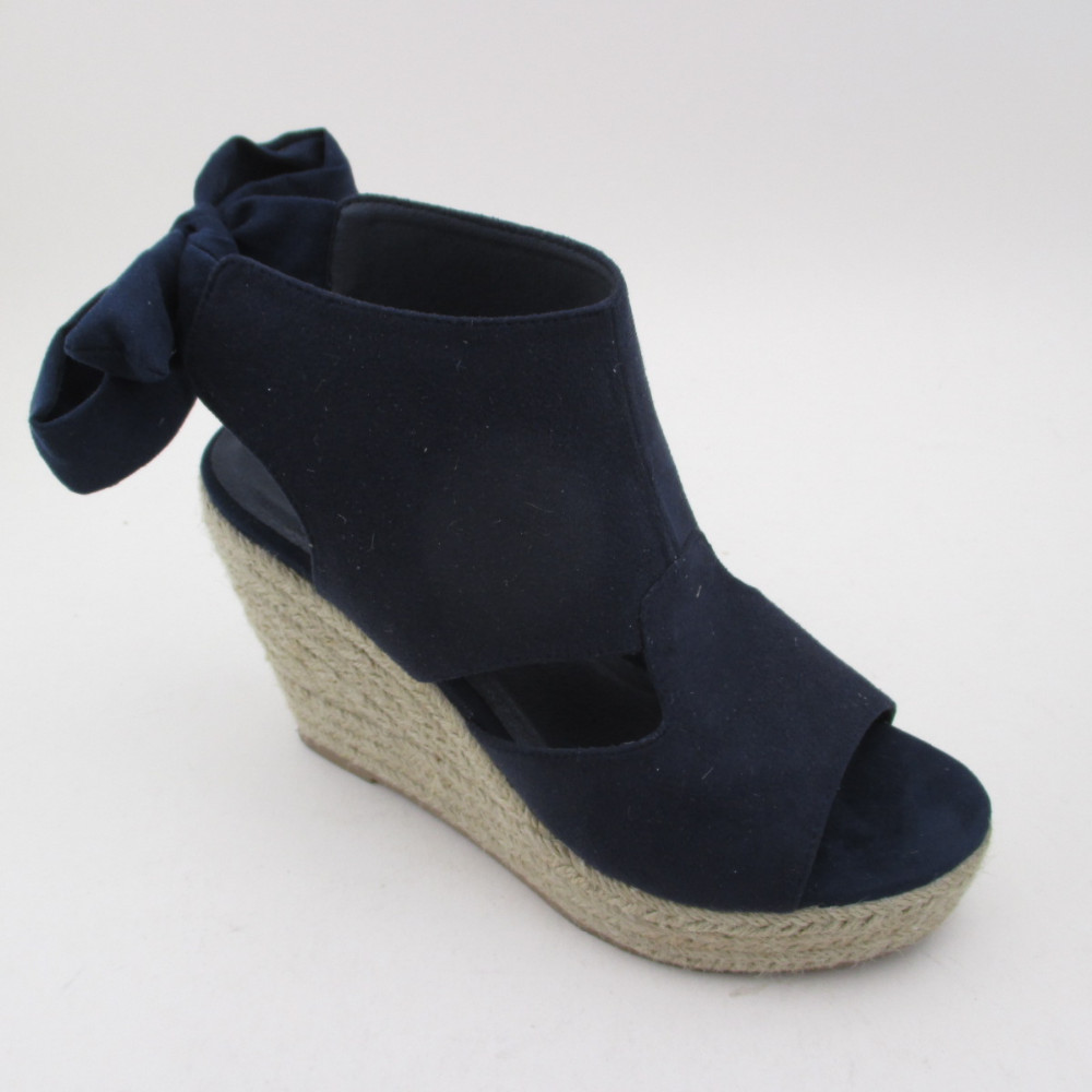 Canvas Wedge Sandals, Jute sandals, Wedge shoes