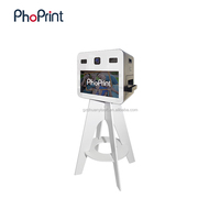 hot new products for 2017 open booth printer,open air photobooth for wedding events advertising equipment at the same time