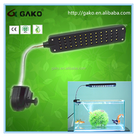 2015GAKO High-Tech Tops Quality JL-48C Touch Control With High Bright Light for Aquarium Fish Tank 48 LEDs Clip Lamp 3 Modes